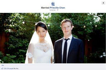 zuck evlendi